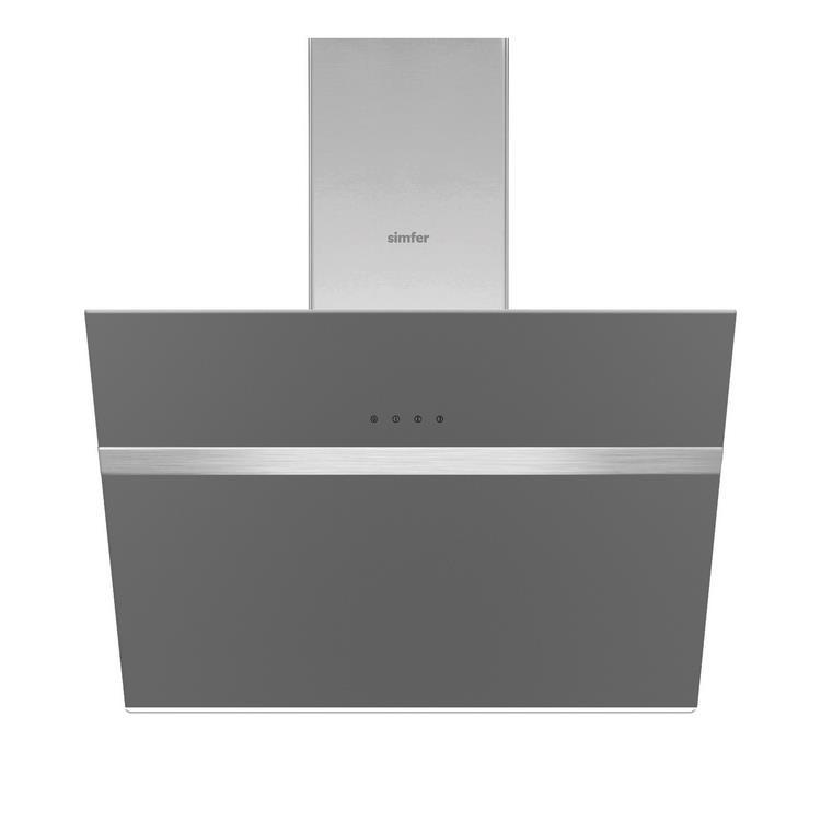 Simfer 6 Fonksiyon Silver Cam Ankastre Set (7334 Fırın + 3537 Ocak + 8613 Davlumbaz)