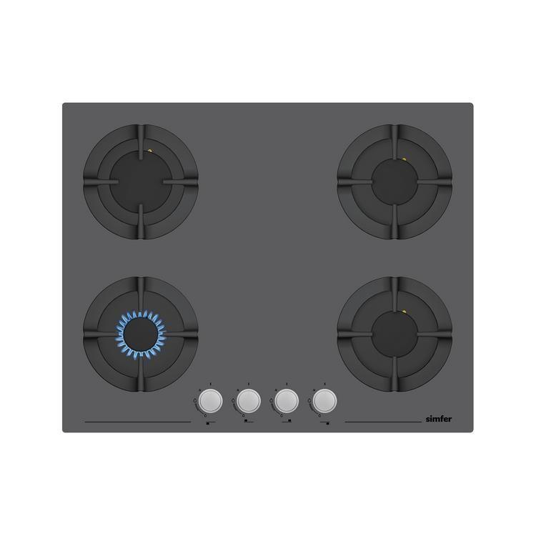 Simfer 80 lt XXL Silver Ankastre Set (7383 Fırın + 3652 Ocak + 8613 Davlumbaz)
