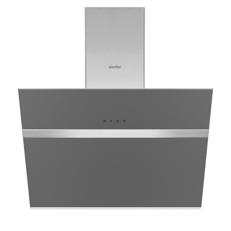 Simfer 80 lt XXL Silver Ankastre Set (7383 Fırın + 3652 Ocak + 8613 Davlumbaz) - Thumbnail