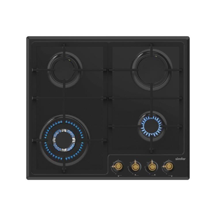 Simfer Ardıç Retro Siyah Ankastre Set (7319 Fırın + 3323 Ocak + 8667 Davlumbaz) - Thumbnail