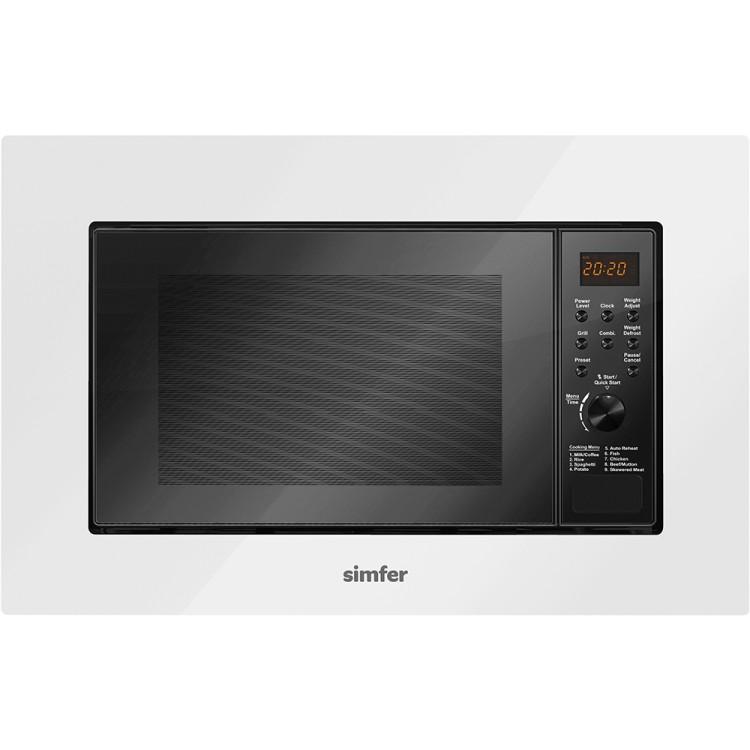 SİMFER - Simfer MD 2360 Siyah/Beyaz Dijital 23 Litre Mikrodalga Fırın