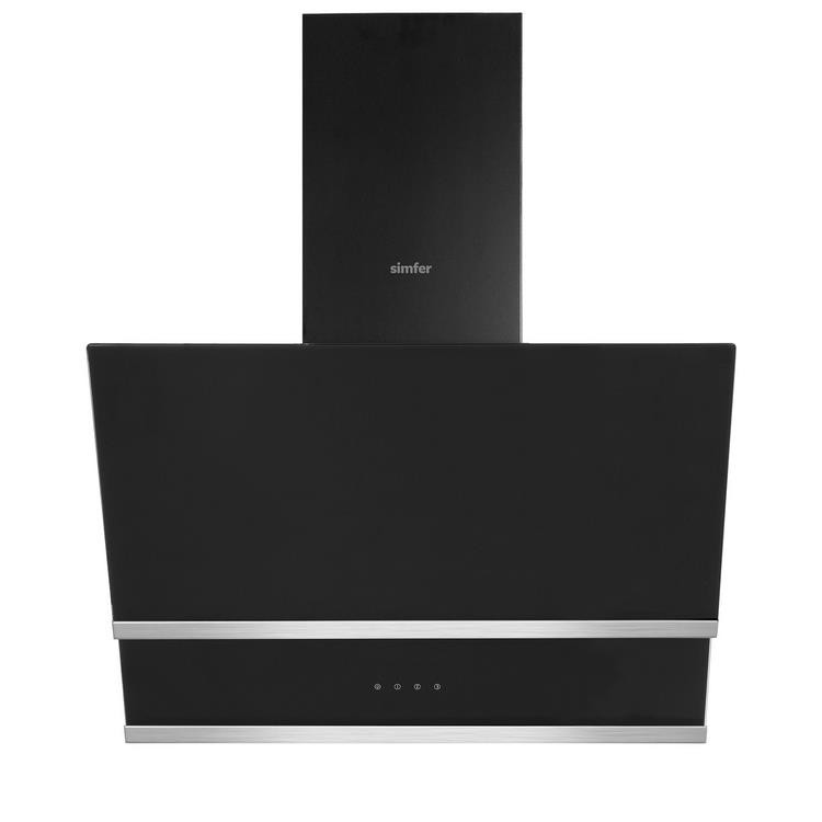 Simfer Siyah Cam Ankastre Set (7326 Fırın + 3500 Ocak + 8658 Davlumbaz) - Thumbnail