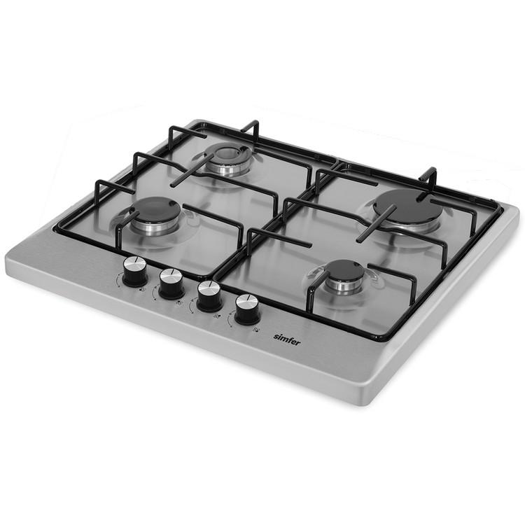 Simfer 3018 L 4g Flat İnox Set Üstü Ocak (ffd)